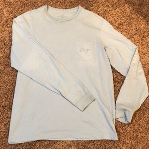 Medium Light blue Vineyard Vines long sleeve shirt